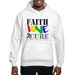 Faith Love Cure Autism Hooded Sweatshirt