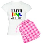 Faith Love Cure Autism Women's Light Pajamas
