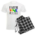 Faith Love Cure Autism Men's Light Pajamas