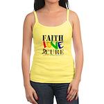 Faith Love Cure Autism Jr. Spaghetti Tank