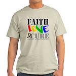 Faith Love Cure Autism Light T-Shirt