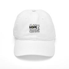 Love Believe Hope Autism Baseball Cap