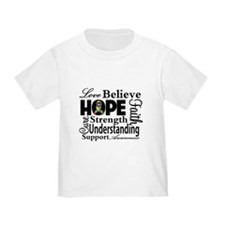 Love Believe Hope Autism T