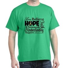Love Believe Hope Autism T-Shirt