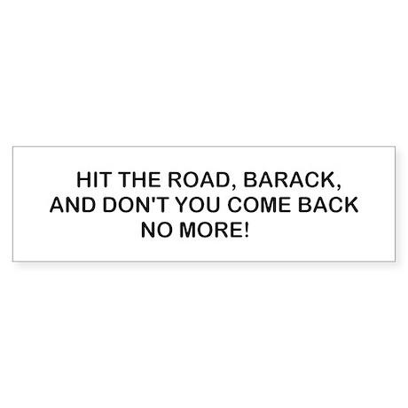 Hit the Road! Sticker (Bumper)