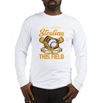 Wolf Paw Cutout Organic Kids T-Shirt (dark)