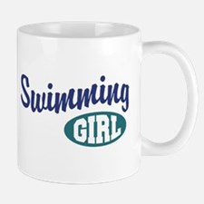 Swimming Girl Mug