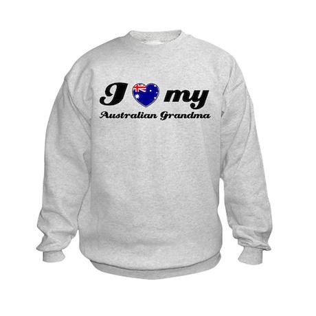 I love My Australian Grandmother Kids Sweatshirt