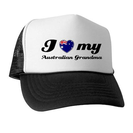 I love My Australian Grandmother Trucker Hat