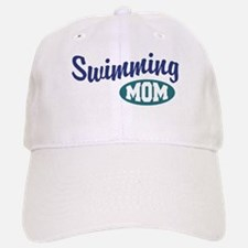 Swimming Mom Baseball Baseball Cap