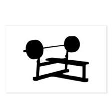 Weightlifting Postcards (Package of 8)