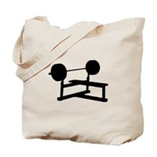 Weightlifting Tote Bag
