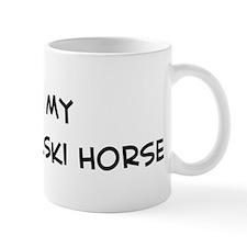 I Love Wielkopolski Horse Mug