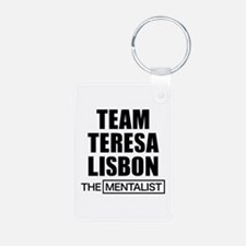 Team Teresa Lisbon Aluminum Photo Keychain