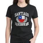 Santiago Chile Women's Dark T-Shirt
