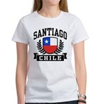 Santiago Chile Women's T-Shirt