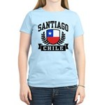 Santiago Chile Women's Light T-Shirt
