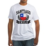 Santiago Chile Fitted T-Shirt