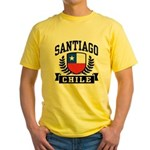 Santiago Chile Yellow T-Shirt