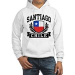 Santiago Chile Hooded Sweatshirt