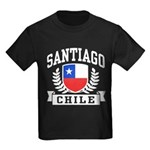 Santiago Chile Kids Dark T-Shirt