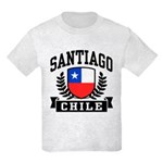 Santiago Chile Kids Light T-Shirt