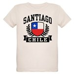 Santiago Chile Organic Kids T-Shirt