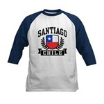 Santiago Chile Kids Baseball Jersey