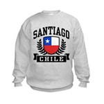 Santiago Chile Kids Sweatshirt