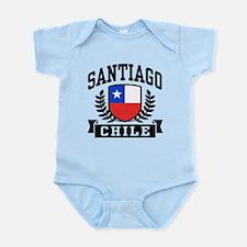 Santiago Chile Infant Bodysuit