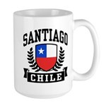 Santiago Chile Large Mug