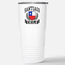 Santiago Chile Travel Mug