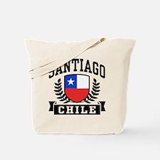 Santiago Chile Tote Bag