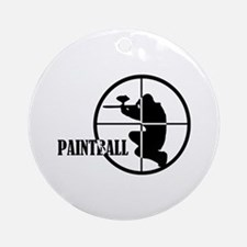 Paintball Ornament (Round)