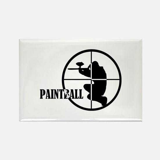 Paintball Rectangle Magnet