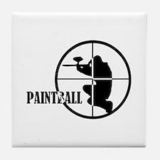 Paintball Tile Coaster