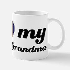 I love My Bajan Grandmother Small Small Mug