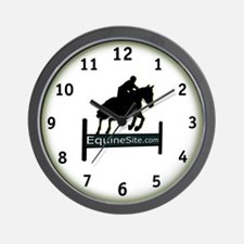 Cute Horse website Wall Clock