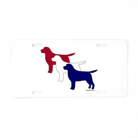 Patriotic Labs Aluminum License Plate