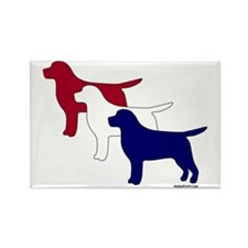 Patriotic Labs Rectangle Magnet