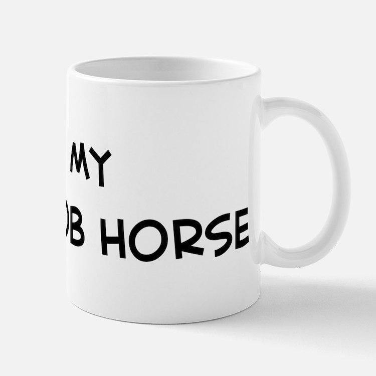 I Love Welsh Cob Horse Mug