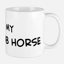 I Love Welsh Cob Horse Small Small Mug