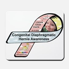 Logan Gage Owen CDH Awareness Ribbon Mousepad