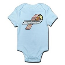 Lewis Moore CDH Awareness Ribbon Infant Bodysuit