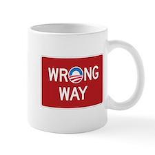 Obama Wrong Way Mug