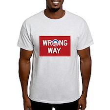 Obama Wrong Way T-Shirt