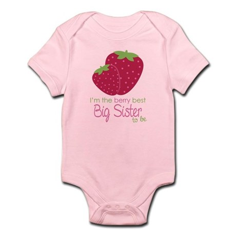 Berry Sister to be Infant Bodysuit