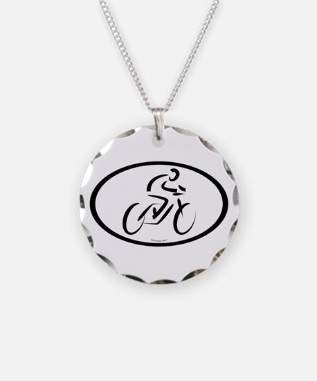 CYCLING euro Necklace
