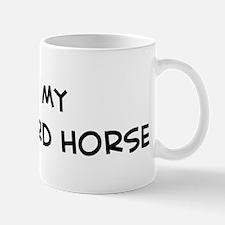 I Love Vlaamperd Horse Mug