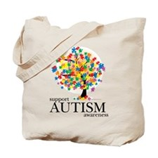 Autism Tree Tote Bag